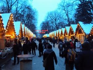 Julmarknad i Lviv