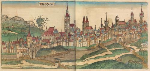 Wrocław i Nürnbergkrönikan 1493
